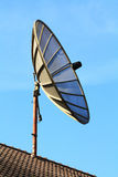 Satellite TV. With blue sky Stock Photo