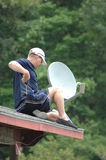 Satellite TV Stock Images