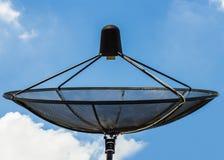 Satellite TV receiver stock photos