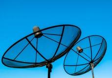 Satellite TV receiver Stock Image