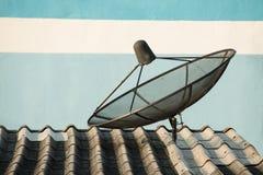 Satellite for TV Stock Image