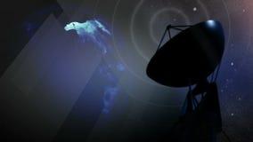 Satellite Variation stock footage
