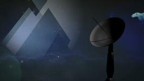 Satellite Variation stock video