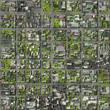 Satellite View Royalty Free Stock Photography