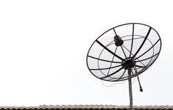 Satellitenantenne getrennt Lizenzfreie Stockfotografie
