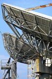 Satellitenschüssel Stockfotografie