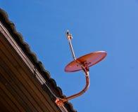 Satellitenschüsseln. Stockbilder