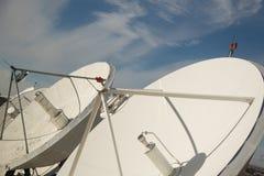 Satellitenschüsseln Lizenzfreie Stockfotos