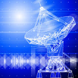 Satellitenschüsseln antena Stockbilder
