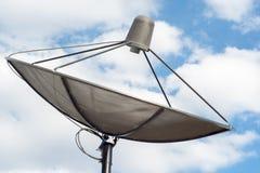Satellitenscheibe Lizenzfreie Stockbilder