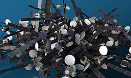 Satellites Stock Image