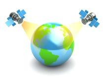 satellites illustration libre de droits