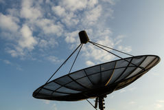 Satellites dish. Stock Image