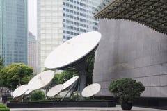 Satellitmottagare Royaltyfria Foton