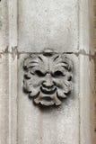 Satermasker basrelief royalty-vrije stock afbeelding