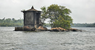 Satha Paha Duwa Madu River Stock Photo