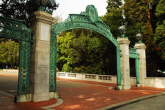 Sather Gate, Cal Berkeley Royalty Free Stock Photo