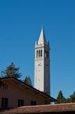 Sather Tower in Berkeley. Sather Bell Tower on Berkeley campus stock photography