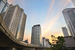 Sathorn Building Royalty Free Stock Photography