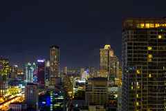 Sathorn city Royalty Free Stock Photo