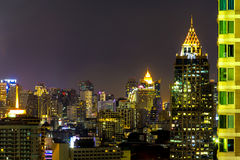 Sathorn city. In the thailand Stock Image