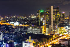 Sathorn city Royalty Free Stock Images