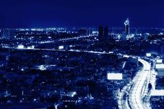 Sathorn District at night , Bangkok, Thailand. Sathorn District at night , Bangkok,Thailand Royalty Free Stock Images