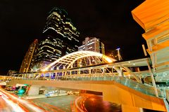 Sathorn intersection Stock Images