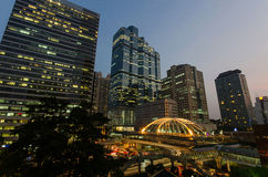 Sathorn junction Royalty Free Stock Photos