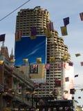 Sathorn unieke toren Stock Afbeeldingen