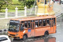 77 Sathupradit - stazione degli autobus nordica Fotografie Stock Libere da Diritti