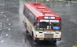 77 Sathupradit - terminal de ônibus do norte Imagem de Stock Royalty Free