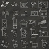 Saticons Royalty Free Stock Photography