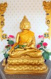 Satiennawakot buddha (9 faces buddha) in Thailand Royalty Free Stock Image