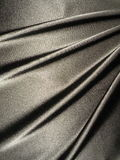 Satin. Silver satin textures suitable as background Royalty Free Stock Photos