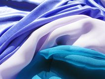 Satin Abstract Texture Background Multicolored Stock Image