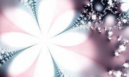 Satin-abstrakter Hintergrund Stockfotos