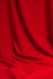 .Satin background. Red satin background; place for your object Stock Image