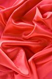 Satin background. Abstract red satin background, usesful as background Royalty Free Stock Images