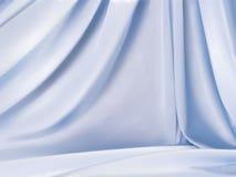 Satin bleu-clair Photo libre de droits