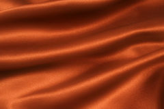 Satin Chocolate diff. A folded and flowing background of Deep, rich, chocolate coloured satin stock photography