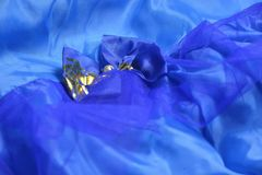 Satin cloth Stock Images