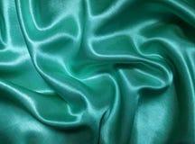 Satin de turquoise image libre de droits