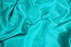 Satin de turquoise images stock
