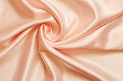 Satin drapery. Drapery of delicate pink satin Stock Photos