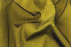 Satin gold material Stock Photography