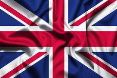 Great Britain flag background stock photo