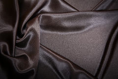 Satin noir Photos stock