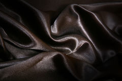 Satin noir Images stock