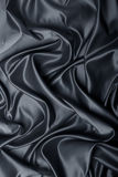 Satin noir Image libre de droits